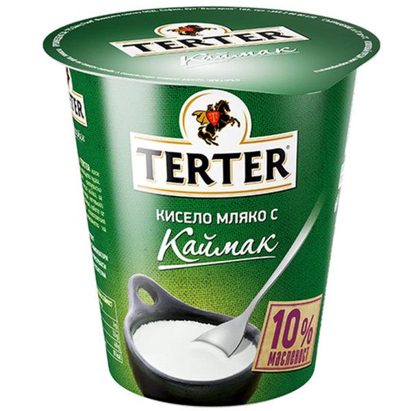 КИСЕЛО МЛЯКО TERTER С КАЙМАК 10% 300 ГР